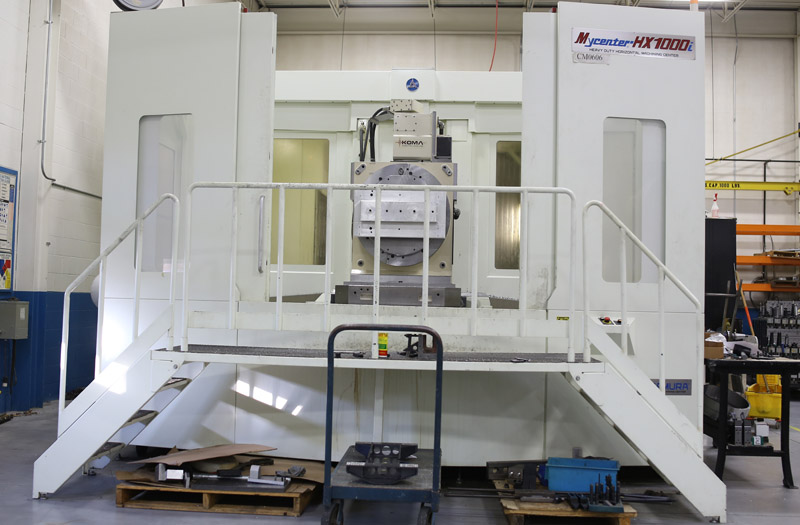 Large CNC milling services