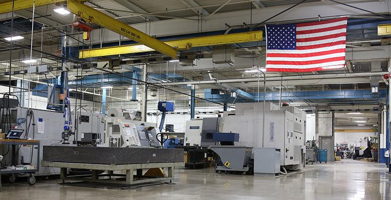 Astro Manufacturing & Design's manufacturing facility